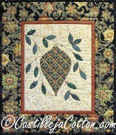 Christmas Glitter quilt pattern by Diane McGregor at Castilleja Cotton