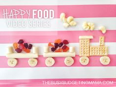 My Happy Food Video Series +New Blog Design!