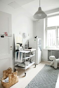 Sunnys Blog | Small kitchen space, White, Lovely.