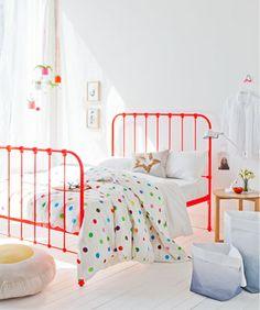 Neon bed. Sweet!