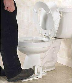 Toilet Seat Lifter!