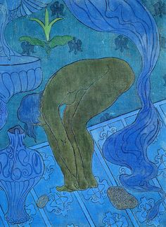 """Paul Elie Ranson """"The Blue Bather"""" 1891"""