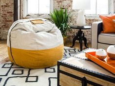 Limited Edition Silver Birch / Honeybee Polyfelt Citysac Package by Lovesac | Spring Collection 2014