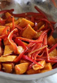 Sweet Potato Tandoori Salad