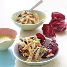 10 Best Chicken Salad Recipes    Chicken Salad in Radicchio Cups   MyRecipes.com