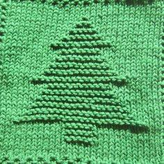 Christmas Tree Knit Dishcloth Pattern pattern design, christma tree, tree knit, knit dishcloth, dishcloth pattern, christmas trees