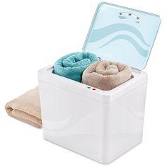 The Best Heated Towel Warmer - Hammacher Schlemmer