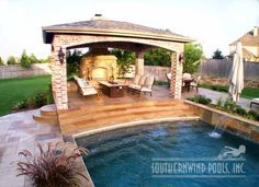 Outdoor Living Furniture by Southernwind Pools #029