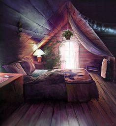 Lovely bohemian bedroom