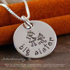 Hand Stamped Jewelry  Personalized Sterling by IntentionallyMe, $33.00