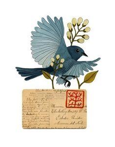 Lovely bird by Gennine