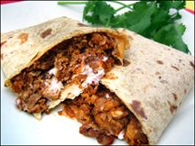 low cal beefy supreme wrap recipe