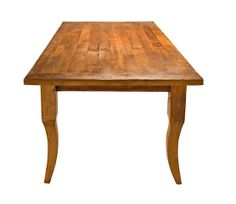 Recycled fir dining table
