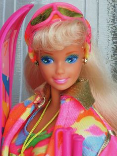 Ski Fun Barbie barbi sky, fun 1991, christmas barbie dolls, ski fun, fun barbi, sky fun, barbi doll