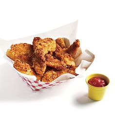 Potato-Crusted Chicken Fingers - Budget Meals: Feed 4 for $10 - Cooking Light