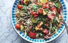 salad, tomato