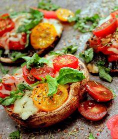 dinner, mushroom, grilled portobello, food, pizzas, eat, grills, portobello pizza, grill portobello