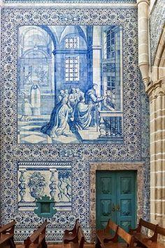 Portuguese tiles, Azulejos, Portugal