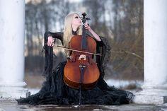 """Winters Melody"" by Maria Amanda on deviantART, via Dead Girls"