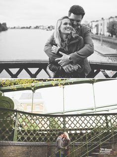 Hammersmith Bridge Engagement Session by weheartpictures.com