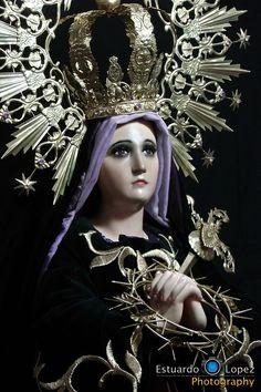 Consagrada Imagen de Nuestra Señora de Soledad  Parroquia de Santa Catalina de Alejandría, Guatemala   Luis Fernando Serna Covarrubias