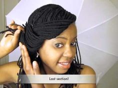 Styling Your Yarn Braids :)