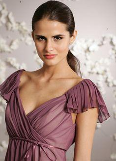 sleeved brides maid dresses
