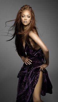 Tyra Banks- tipinė modelio poza