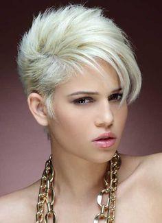 Blonde Short Hair 2013