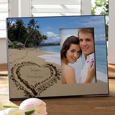 Our Paradise Island Personalized Frame