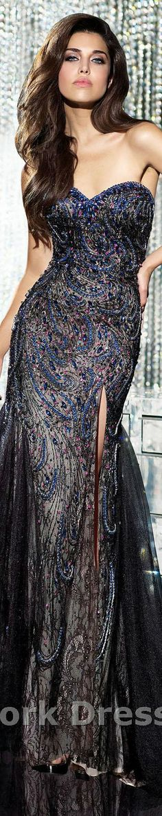 Alyce Paris design #elegant #strapless #sexy #large #formal #dress