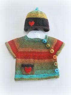 So cute!   Newborn hat and cardigan