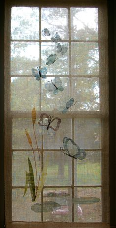 Butterfly Transparent Tapestry