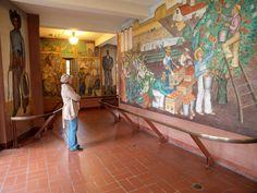 Murals inside Coit Tower