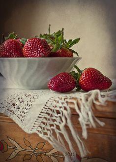 Fresas, via Flickr.
