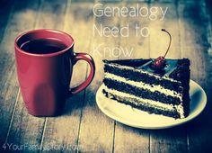 7 #Genealogy Things You Need to Know Today, Saturday, 7 Jun 2014, via 4YourFamilyStory.com. #needtoknow #familytree
