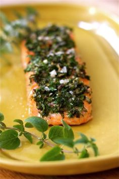 Baked Herb Salmon Fillets