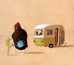 oliv jeffer, oliver jeffers, bears, art, children illustr