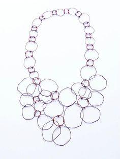amaz jewelri, jewelleri, florence, florenc croisier, 2012 barcelona, collar, chains, necklac, joya 2012
