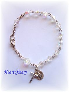 Heart of Mary: How to Make a Rosary Bracelet