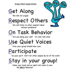 Love this idea for teaching students how to work in groups!