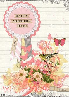 @Rhonna Farrer Mother's Day Card