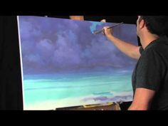 Dissolving Into Aqua - Time Lapse Landscape Painting by Tim Gagnon. Visit Tim Gagnon Studio at http://www.timgagnon.com/ for more information and online lessons.