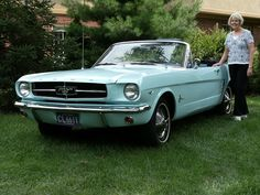 Did You Know The World's First Ford Mustang Owner Was A Woman?