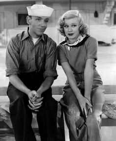 Fred Astaire, Ginger Rogers.