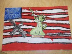 american symbols art