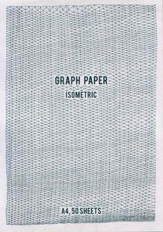 Hand drawn graph pads byLouise Naunton Morgan