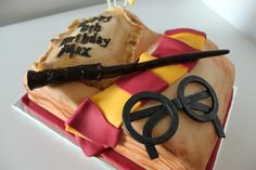 Harry Potter birthday party cake