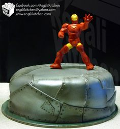 Google Image Result for http://ironchefjabes.page.ph/regali/wp-content/uploads/2012/04/Iron-Man-Cake-1.jpg ironman cake, cake idea, bakeries, sheet metal, birthdays, iron man, action figures, ironman themed cake, birthday cakes