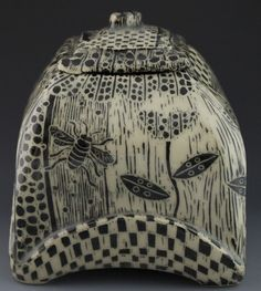 patricia griffin woodcut pollen box